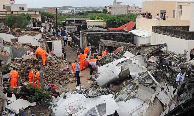 Deux Françaises sont mortes dans le crash de l'avion à Taïwan