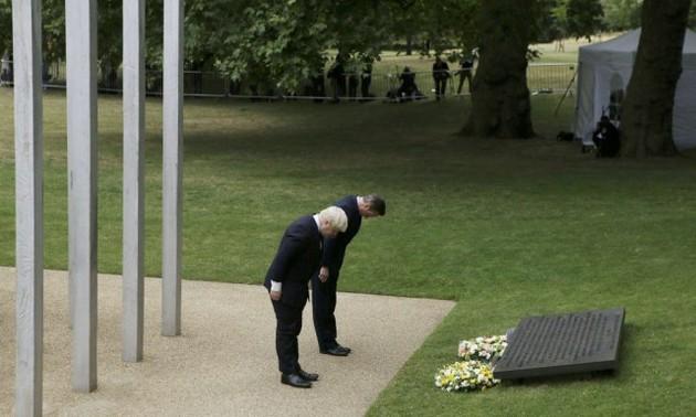 Commémoration des attentats de Londres, dix ans après