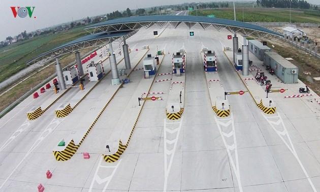 Mise en service de l'autoroute Hanoi-Haiphong