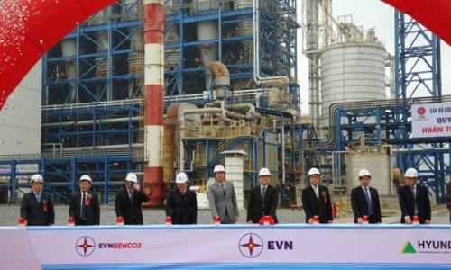 Mise en service de la centrale thermo-électrique de Mông Duong 1