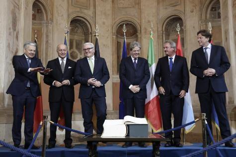 Réunion des membres fondateurs de l'UE sur la crise de l'intégration