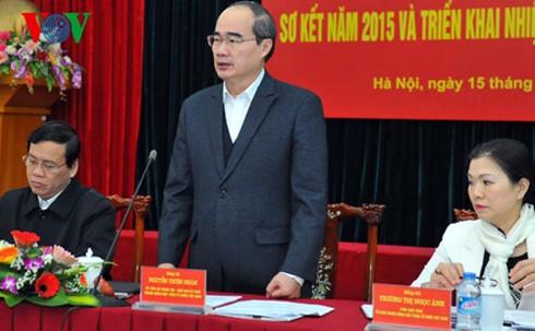 Activer le mouvement «les vietnamiens privilégient la consommation des produits vietnamiens»