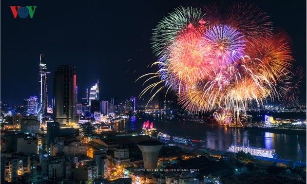 Y a-t-il un feu d'artifice à l'occasion de la Saint-Sylvestre au Vietnam?