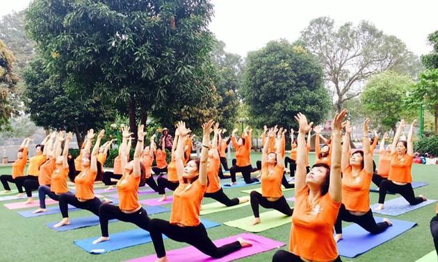 La Journée internationale du yoga est-elle célébrée au Vietnam?
