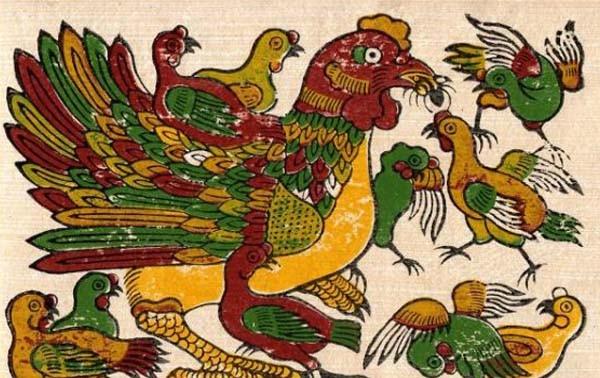 Kejuruan membuat lukisan foklor Dong Ho merupakan warisan budaya nonbendawi nasional