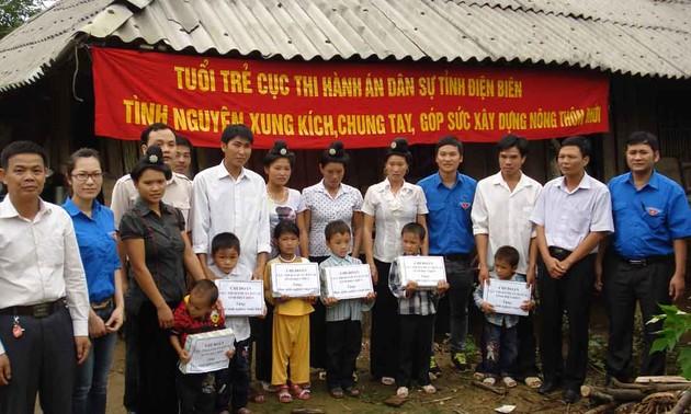 Provinsi Dien Bien menciptakan banyak pola pembangunan pedesaan baru