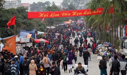 Pesta Lim, provinsi Bac Ninh menyerap kedatangan wisatawan