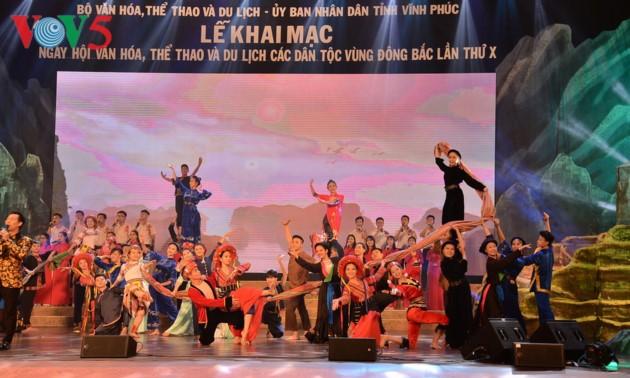 Pembuaan Festival ke-10 Kebudayaan, Olahraga dan Pariwisata provinsi-provinsi di daerah Timur Laut