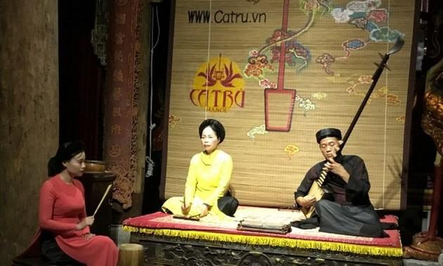 Kota Ha Noi berupaya keras untuk mengkonservasikan lagu rakyat Ca Tru