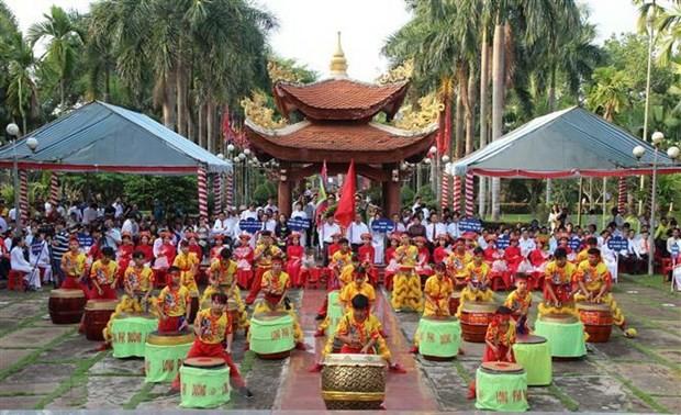 Orang Viet Nam di luar negeri mengadakan upacara hari Haul Cikal Bakal Bangsa Raja Hung