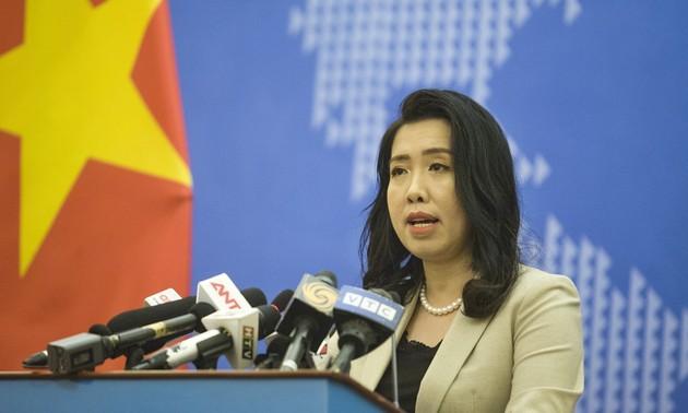 Viet Nam membantah pernyataan juru bicara Kemlu Tiongkok tentang kedaulatan terhadap Kepulauan  Truong Sa