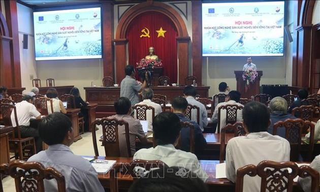 Merekomendasi solusi-solusi produksi hasil perikanan yang berkelanjutan di Viet Nam