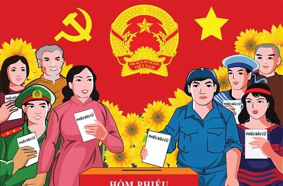 Pergi Memilih Adalah Hak dan Kewajiban yang Suci bagi Warga Viet Nam