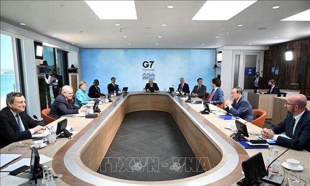 G7 ໃຫ້ຄຳໝັ້ນສັນຍາອຸປະຖຳວັກຊິນກັນພະຍາດໂຄວິດ - 19 1 ຕື້ ໂດສ