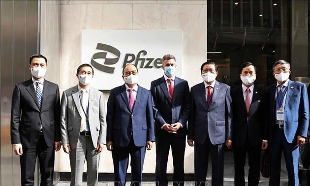 Pfizer ໃຫ້ຄຳໝັ້ນສັນຍາສະໜອງວັກຊິນກັນໂຄວິດ - 19 ຄົບຈຳນວນ 31 ລ້ານໂດສ ໃຫ້ແກ່ ຫວຽດນາມ ໃນປີນີ້