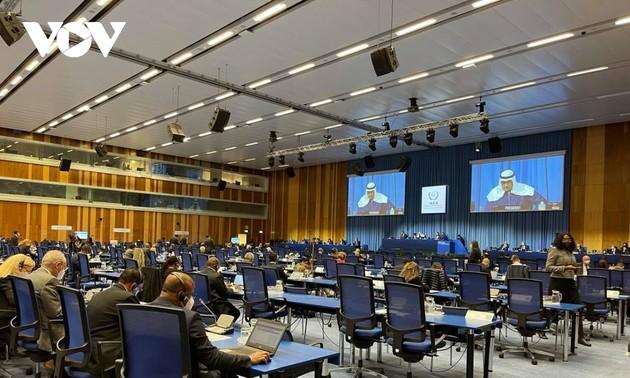 ກອງປະຊຸມສະມັດຊາໃຫຍ່ IAEA ຊຸດທີ 65: ຫວຽດນາມ ໄດ້ຮັບການເລືອກຕັ້ງເຂົ້າເປັນສະມາຊິກສະພາຜູ້ວ່າການ ອາຍຸການ 2021 – 2023