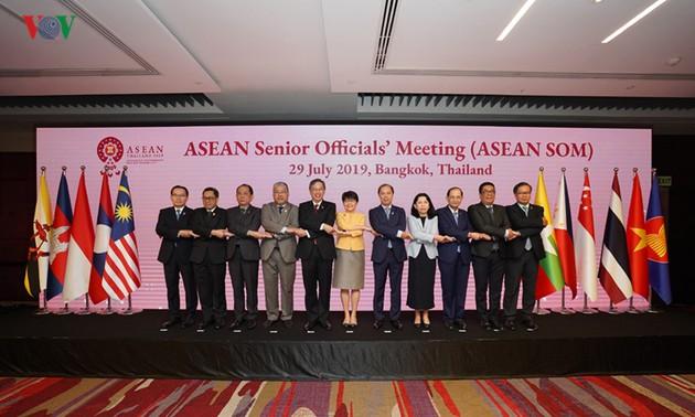 Inauguran la 52 conferencia de cancilleres de Asean