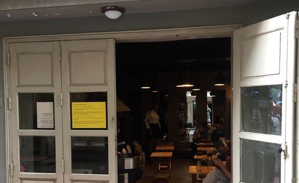 Una cafetería extraordinaria de Hanói