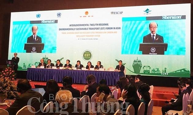 Inauguran Foro Intergubernamental de Transporte Ambientalmente Sostenible en Asia