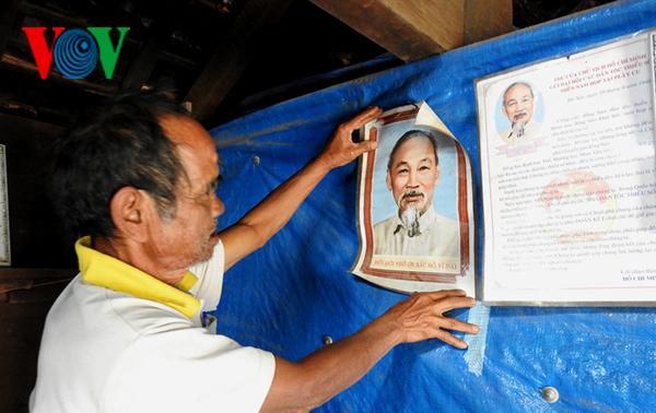 A Hiet, étnico ejemplar en el movimiento de aprender y seguir al presidente Ho Chi Minh