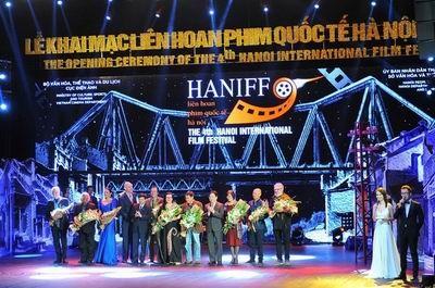 Celebrarán el VI Festival Internacional de Cine en Hanói
