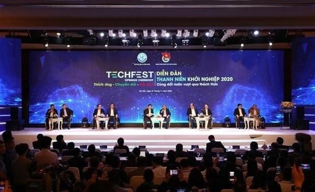 Culminan el festival de emprendimiento e innovación de Vietnam 2020