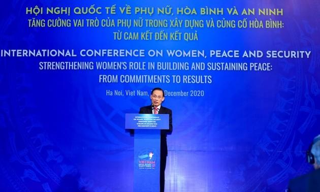 """""""Compromiso de Acción de Hanói"""" por fortalecer el rol de la mujer en temas importantes"""