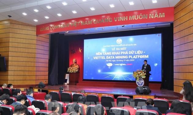 Presentan la Plataforma de Minería de Datos de Viettel
