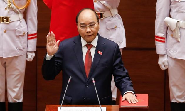 Nguyen Xuan Phuc elegido como presidente de Vietnam