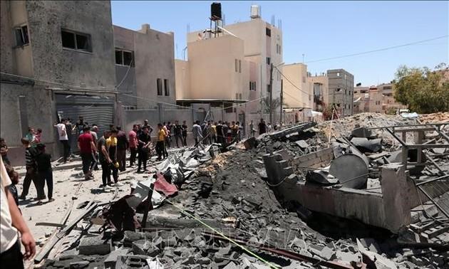 Comunidad internacional se esfuerza por ayudar a Israel y Palestina a cesar el fuego