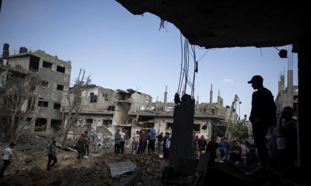 Llamado internacional a un alto el fuego en el conflicto israelí-palestino
