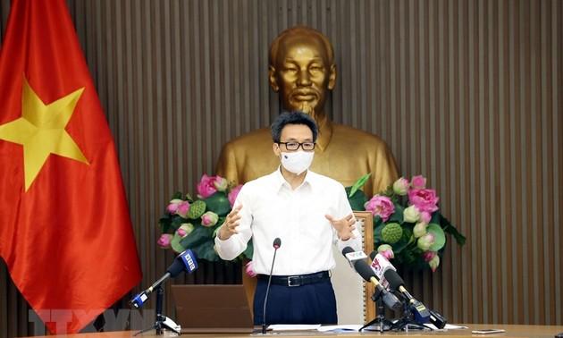 Vietnam fortalece la supervisión de la evolución del covid-19 en zonas industriales