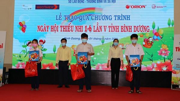 Un verano especial para los niños en Binh Duong