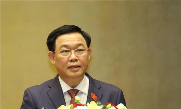 Dirigente chino felicita al nuevo presidente del Parlamento vietnamita por su elección