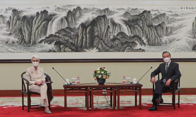 Encuentros bilaterales entre Estados Unidos y China en Tianjin
