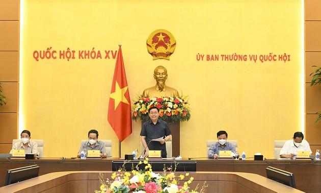 Comité Permanente del Parlamento vietnamita convoca una reunión de emergencia sobre la lucha anti-covid