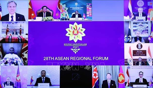 Foro Regional de Asean llama a mantener seguridad y libertad de navegación en el Mar del Este