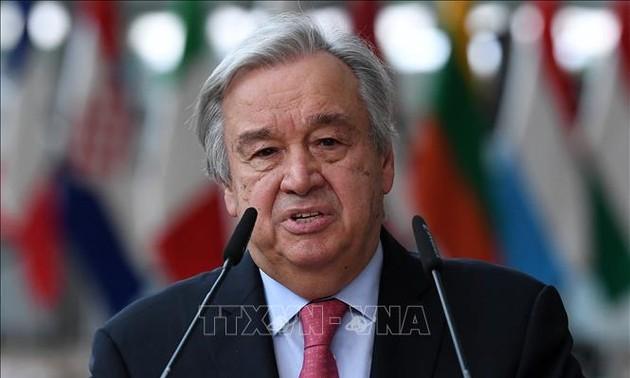 Máximo líder de la ONU llama a las fuerzas externas a retirarse de Libia