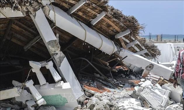 Haití: Suspensión de la búsqueda de víctimas del último sismo