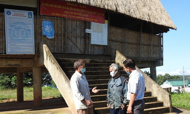 A Bo, patriarca destacado en el movimiento de estudio y seguimiento del ejemplo moral Ho Chi Minh