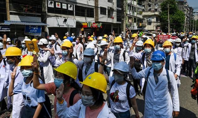 国際社会、ミャンマー情勢の安定化のために取り組む