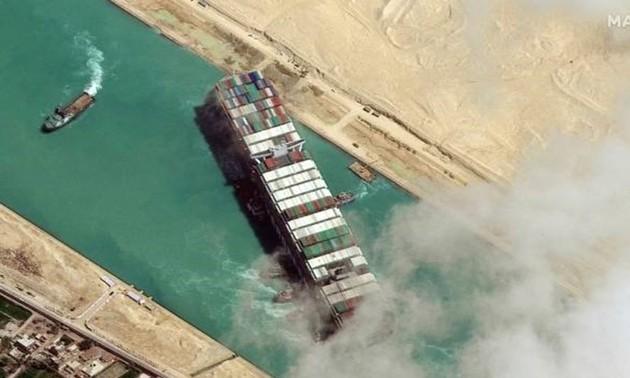 スエズ運河座礁、グローバルサプライチェーンへの影響