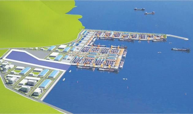JICA ダナン市のリエンチエウ港の開発を支援