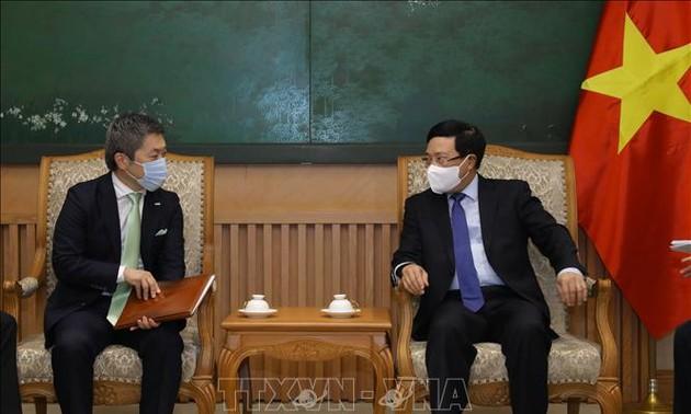 ミン副首相、三井住友フィナンシャルグループの要人と会見