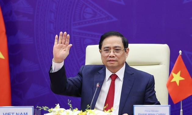 日本経済新聞社主催アジアの未来国際交流会議におけるチン首相の講演