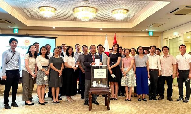 駐日ベトナム大使館、COVID-19ワクチン基金への寄付運動を発動