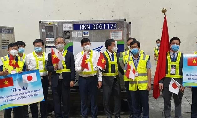 日本、ベトナムにワクチン約100万回分を追加供与