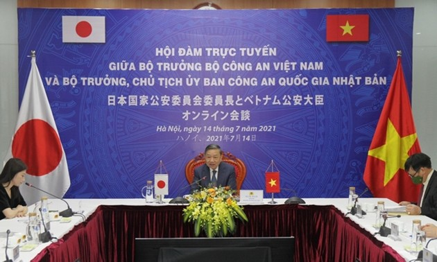 ベトナム公安省と日本国家公安委員会、協力を強化