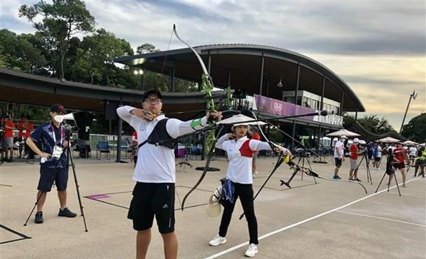 女子アーチェリー、ベトナム代表トップバッターで出場=東京五輪
