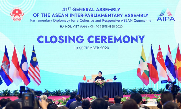 AIPA 41  merupakan kemajuan penting untuk mendorong solidaritas,  kerja sama antar-parlemen negara anggota  ASEAN